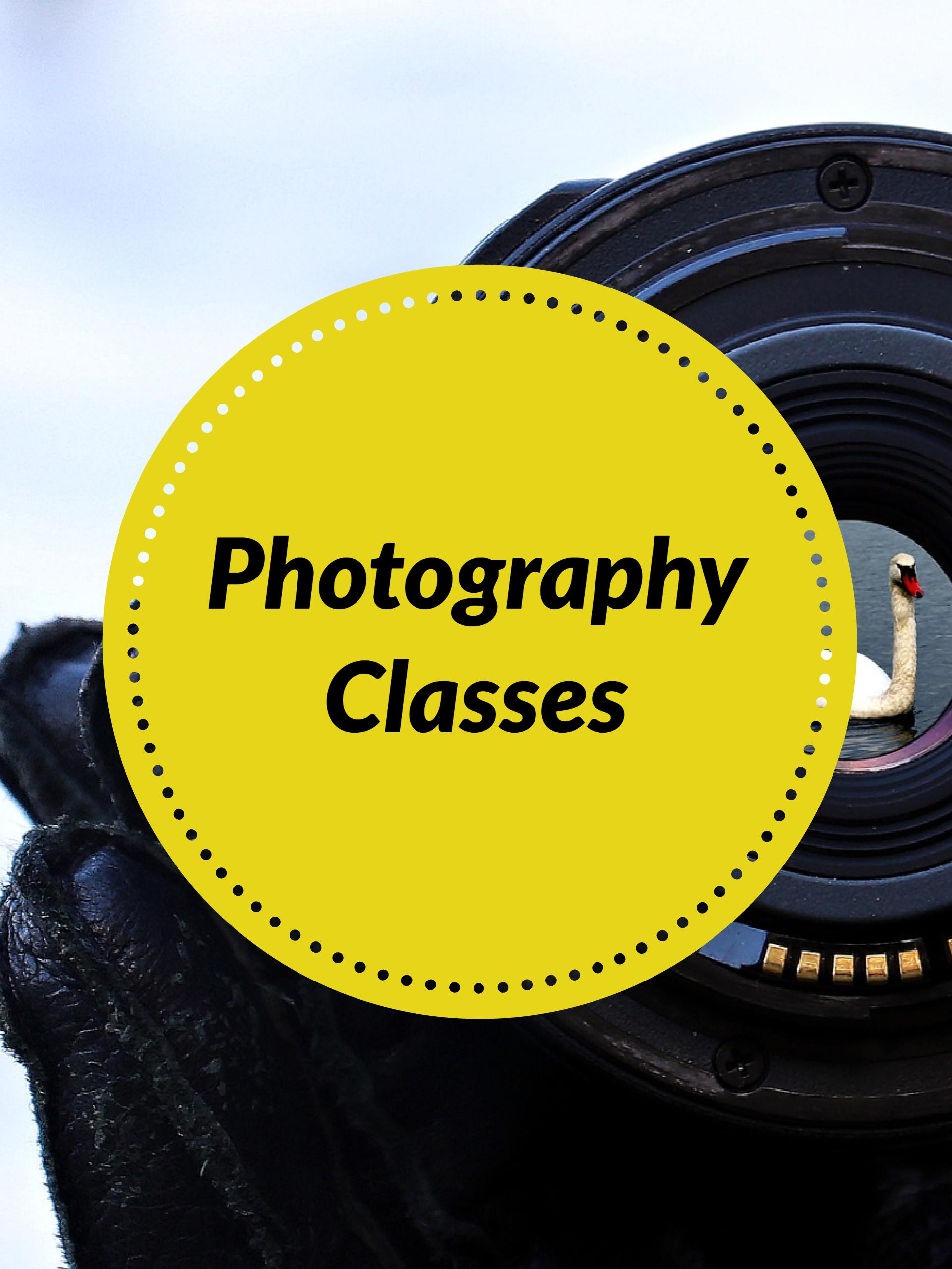 Videography and Photography Classes