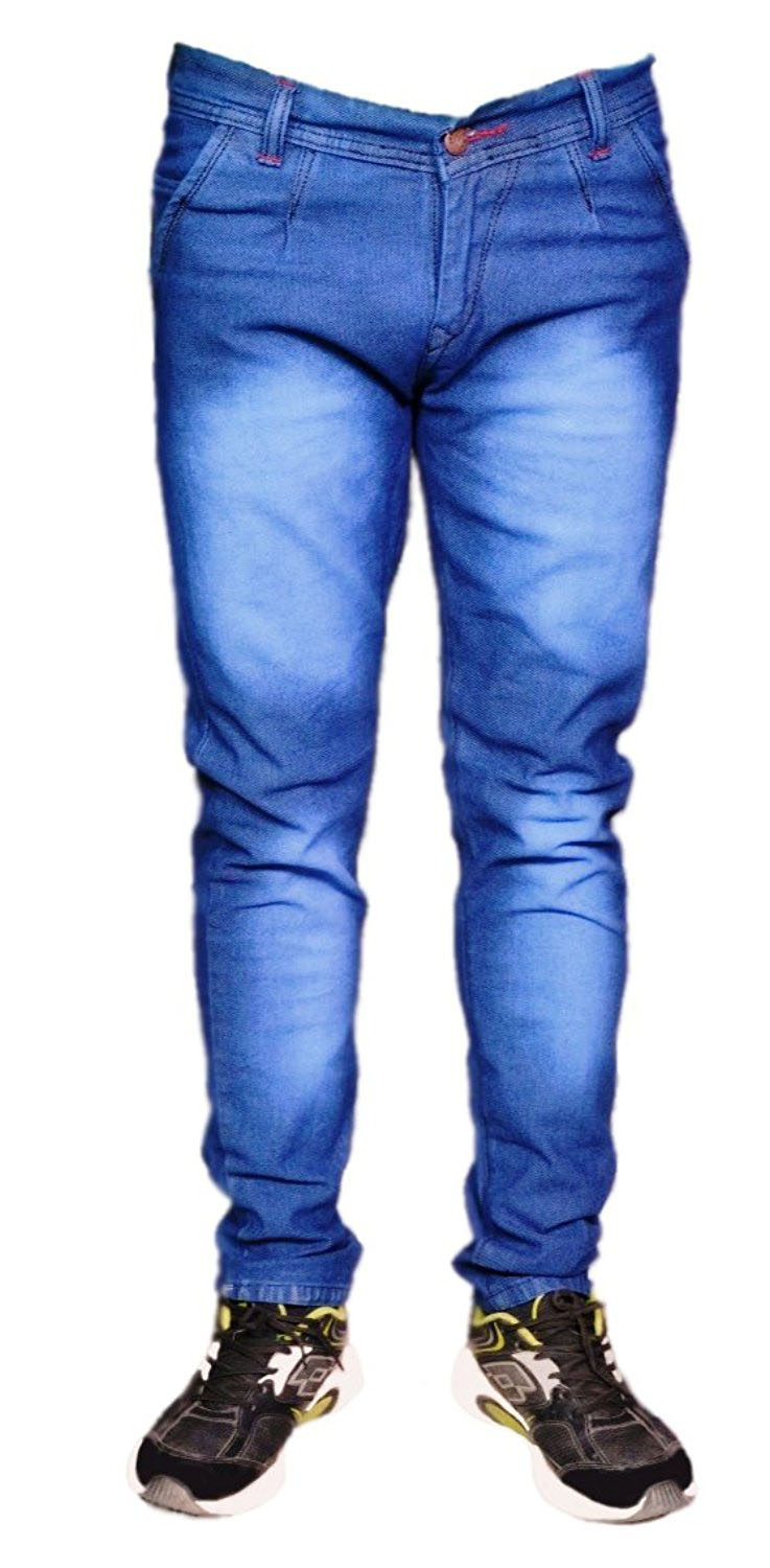 Blue Denim Jeans for Men's | Slim Fit Jeans for Men's | Causal Jeans for Men's