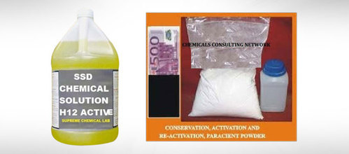 SSD CHEMICAL SOLUTION FOR CLEANING BLACK MONEY