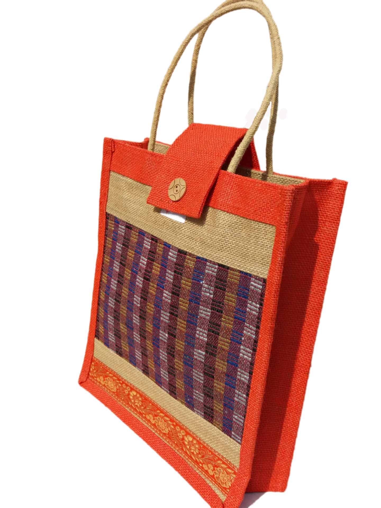 Popular Jute Lunch Bag & shopping Bag Trendy and stylesh Jute Bag all time