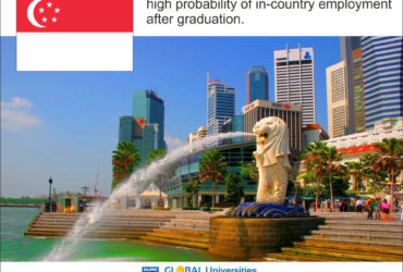 Singapore study & work in the Hospitality Industry with renowned H.M brands
