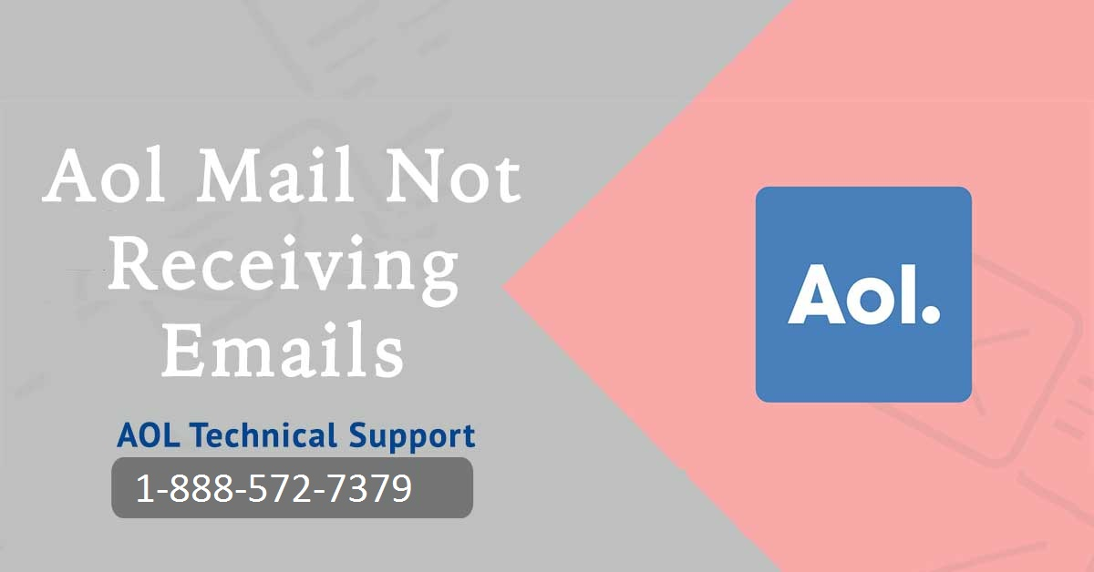 AOL Not Receiving Emails Dial now 1-888-572-7379