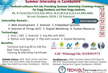 Python Training in Saibaba Colony||Python Training in Gandhipuram|| Training with Project