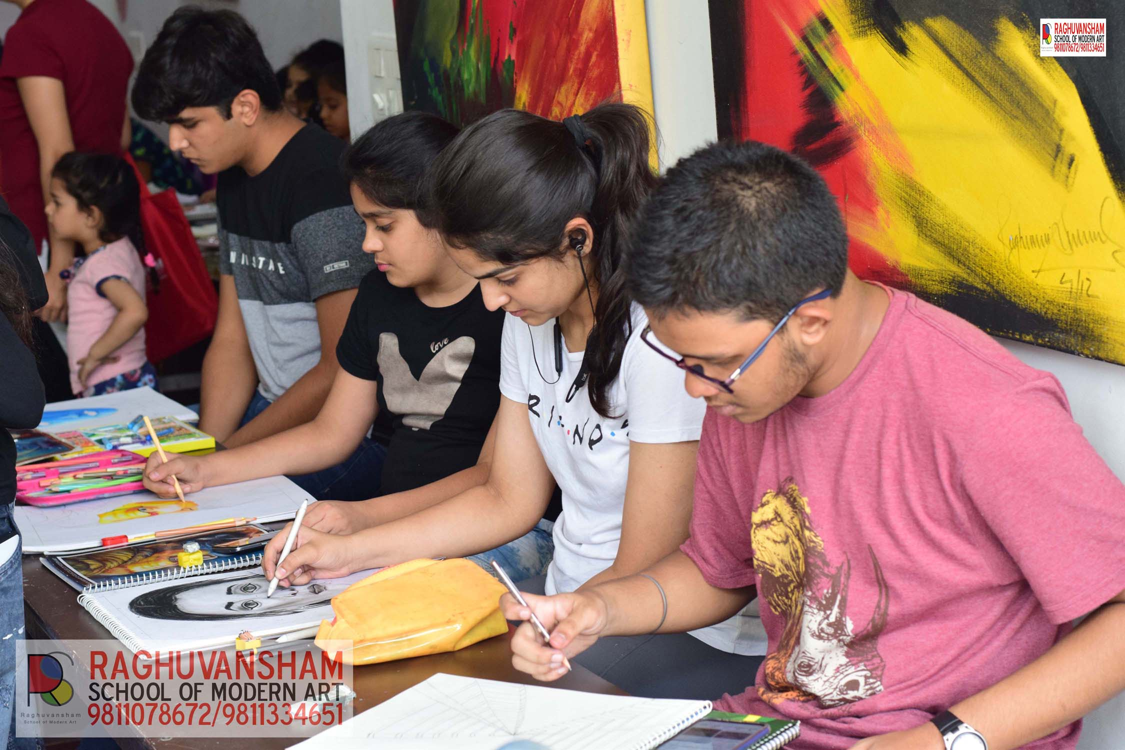 drawing classes in west delhi
