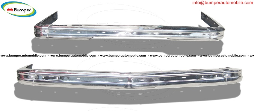 BMW E21 bumper (1975 – 1983) by stainless steel