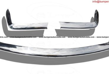 Fiat 124 Spider bumper (1966–1975) in stainless steel