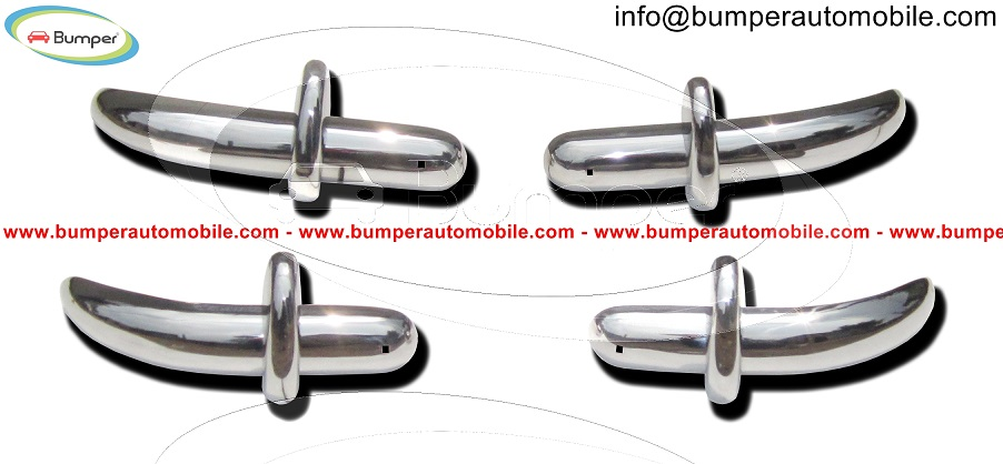 Saab 92 92B bumper (1949-1956) by stainless steel