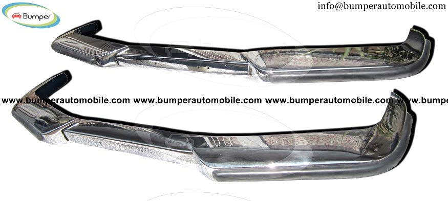 Volvo P1800 S/ES bumper (1963-1973) by stainless steel