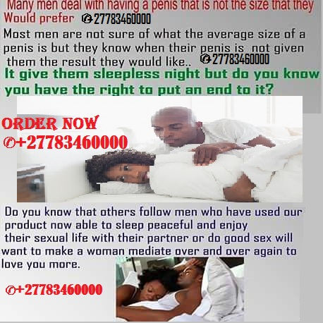 Penis enlargement pills/capsules and creams ☎+27783460000 UAE, South Africa, Johannesburg