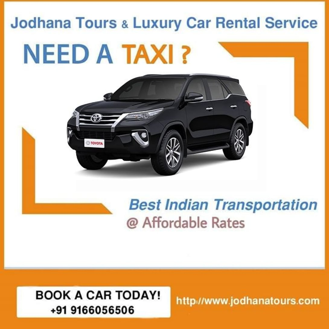 Car Rental in Jodhpur – Car hire services