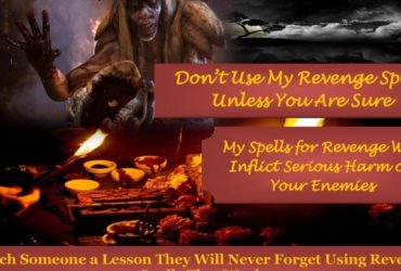 Powerful Revenge Spells – Curses and Spells for Revenge Against Enemies Call +27785149508