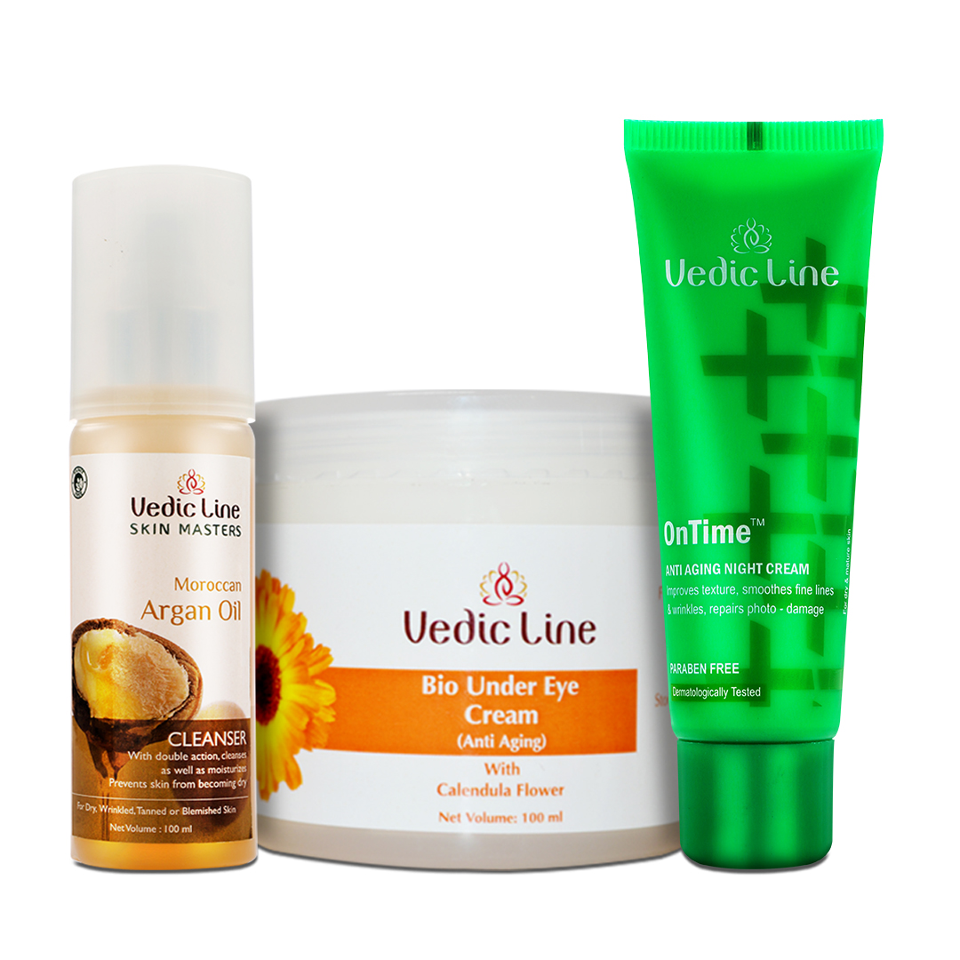 Vedic Line | Night Care Combo | Anti-aging | Skin Glow Treatment