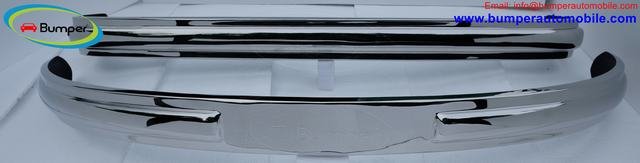 Volkswagen Bus T1 Split Screen bumper kit 1950-1957 stainless steel