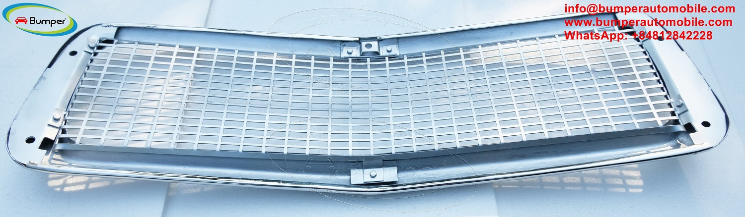 Volvo PV 444 stainless steel grill